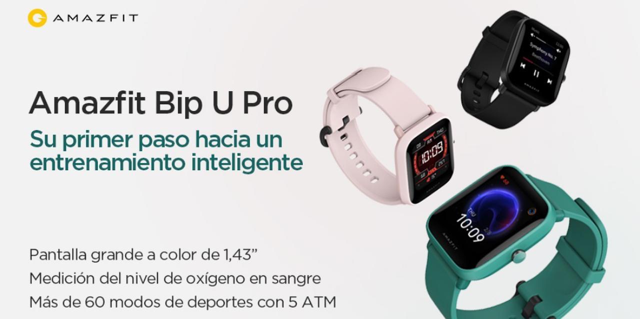 Presentación sobre Amazfit Bip U Pro