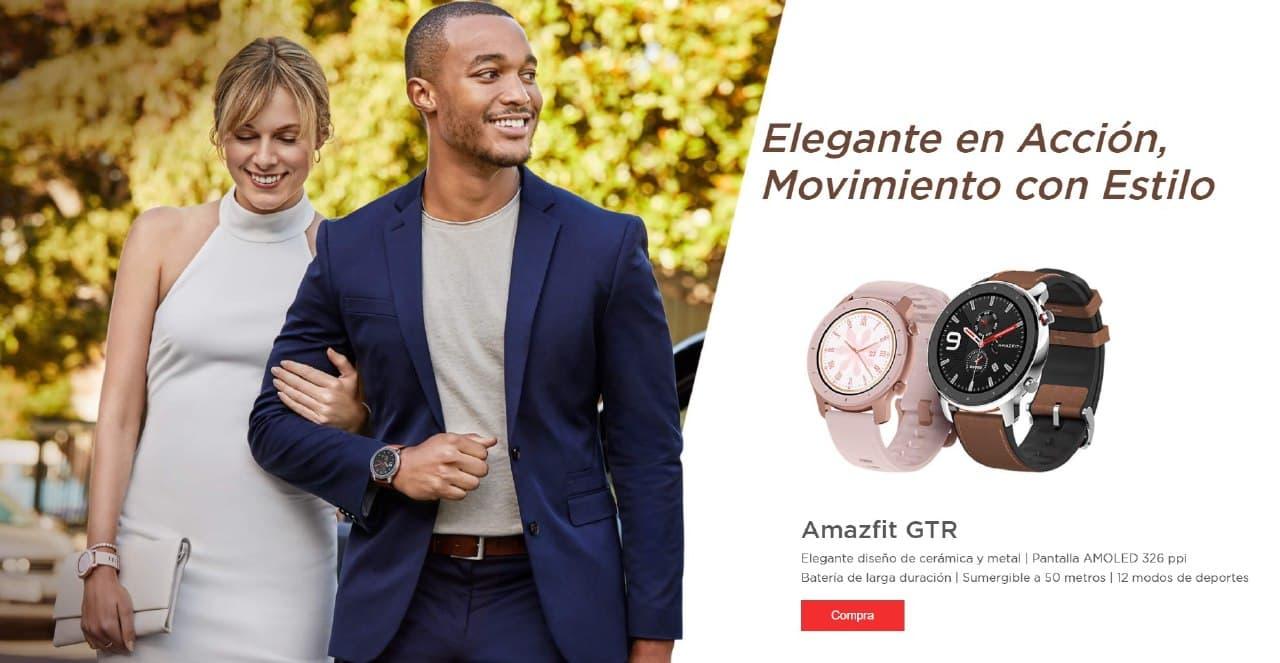 Presentación sobre Amazfit GTR