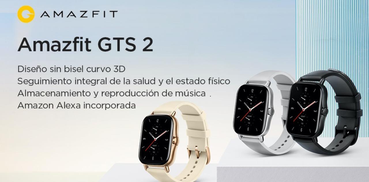 Presentación sobre Amazfit GTS 2