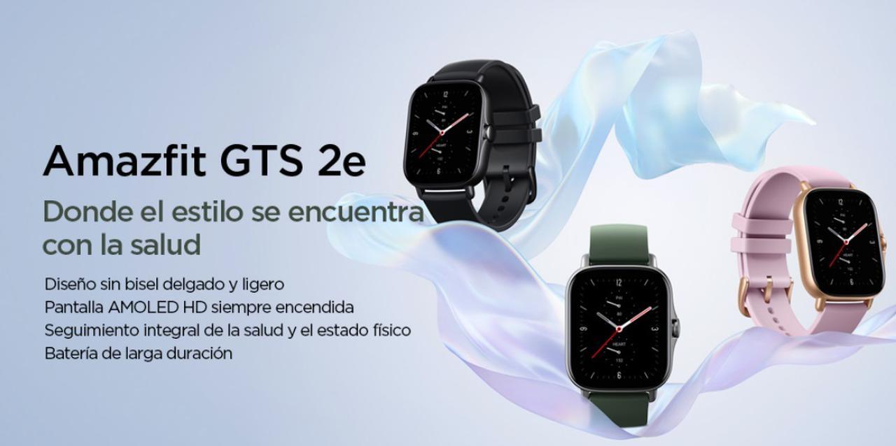 Presentación sobre Amazfit GTS 2e