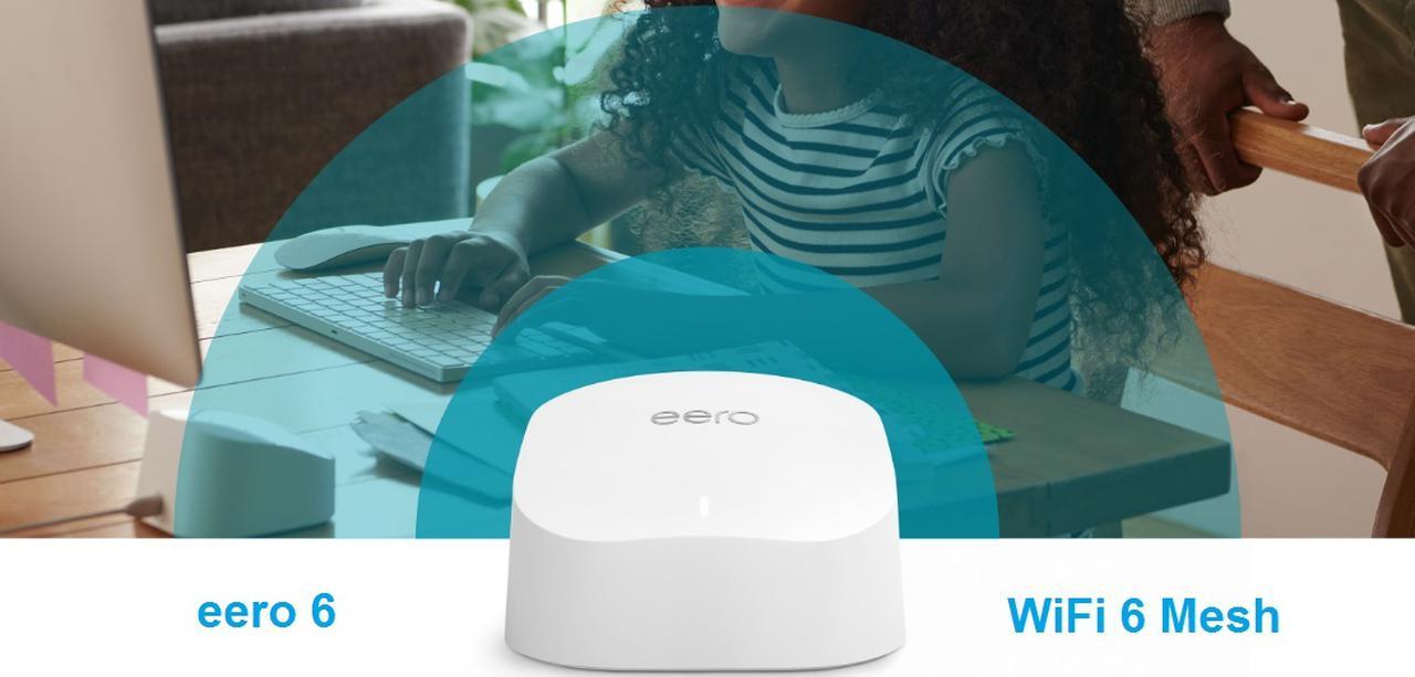 Presentación sobre Amazon eero 6 router WiFi 6