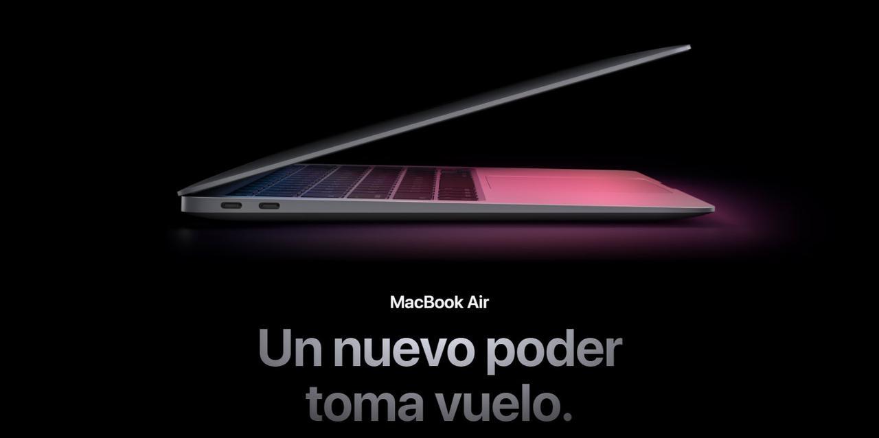 """Presentación sobre Apple Macbook Air M1 13"""""""