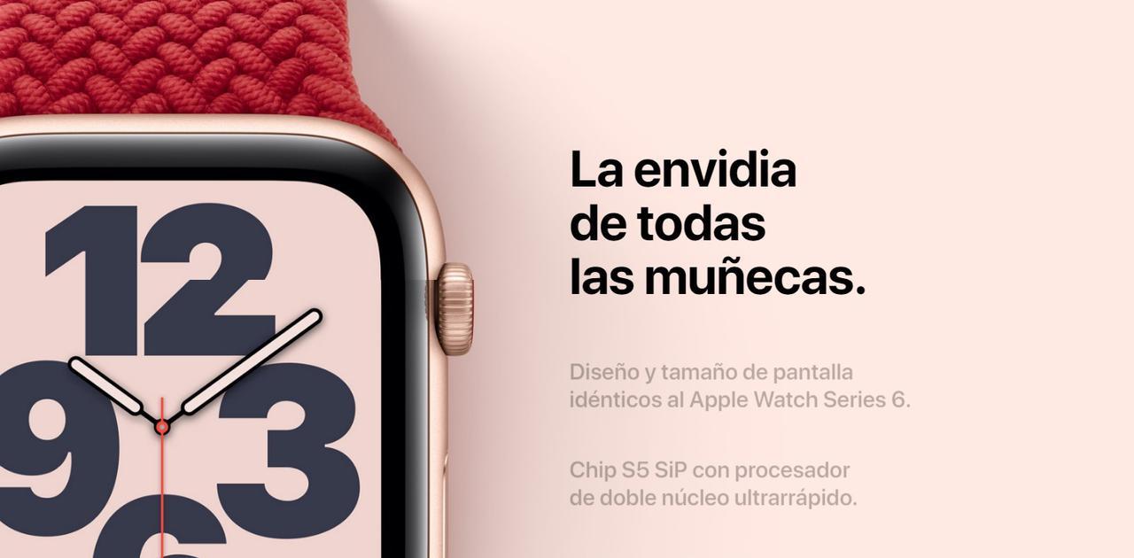 Presentación sobre Apple Watch SE