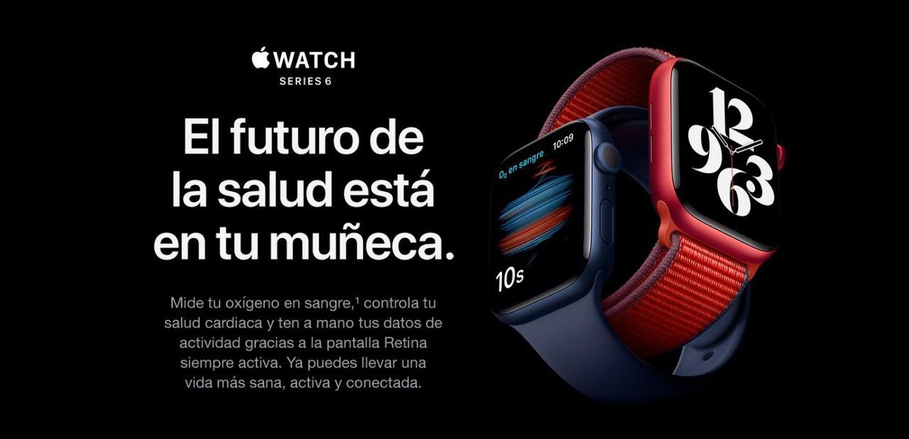 Presentación sobre Apple Watch Series 6