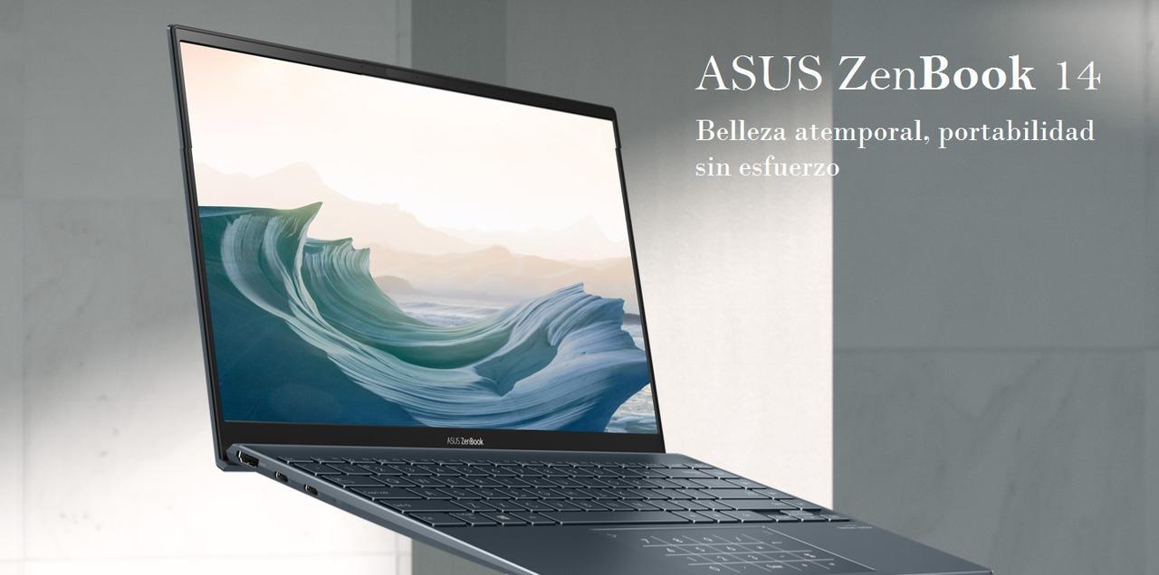 Presentación sobre ASUS ZenBook 14 UX425