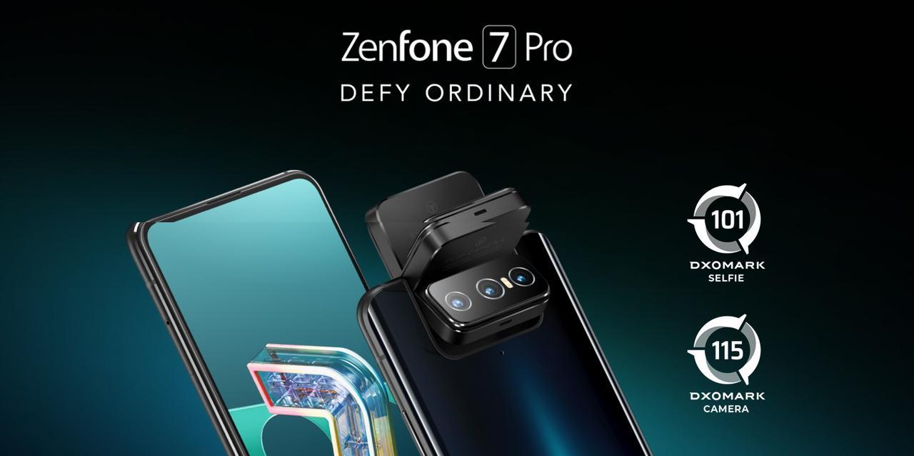 Presentación sobre ASUS ZenFone 7 Pro