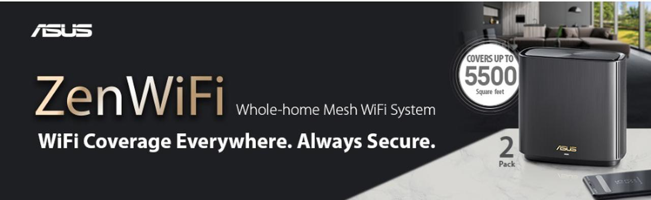 Presentación sobre Asus ZenWiFi AX (XT8) Pack de 2