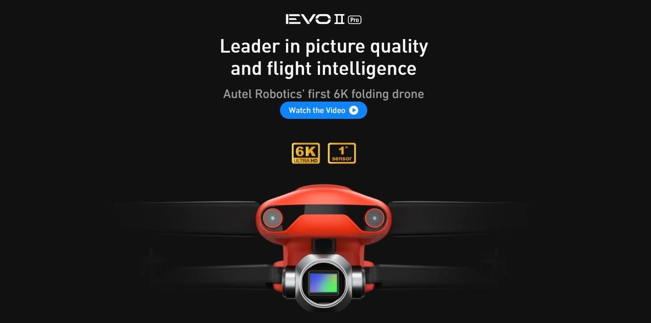 Presentación sobre Autel Robotics Evo II Pro 6K
