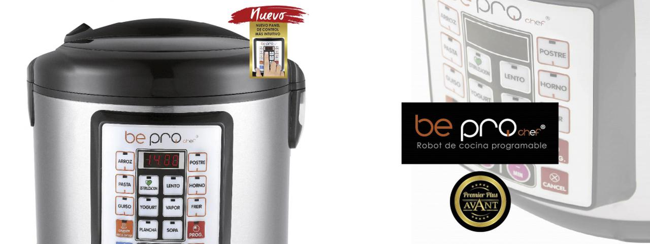 Presentación sobre Be Pro Chef Premier Plus