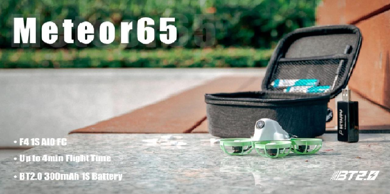 Presentación sobre BETAFPV Meteor65 Quadcopter Whoop