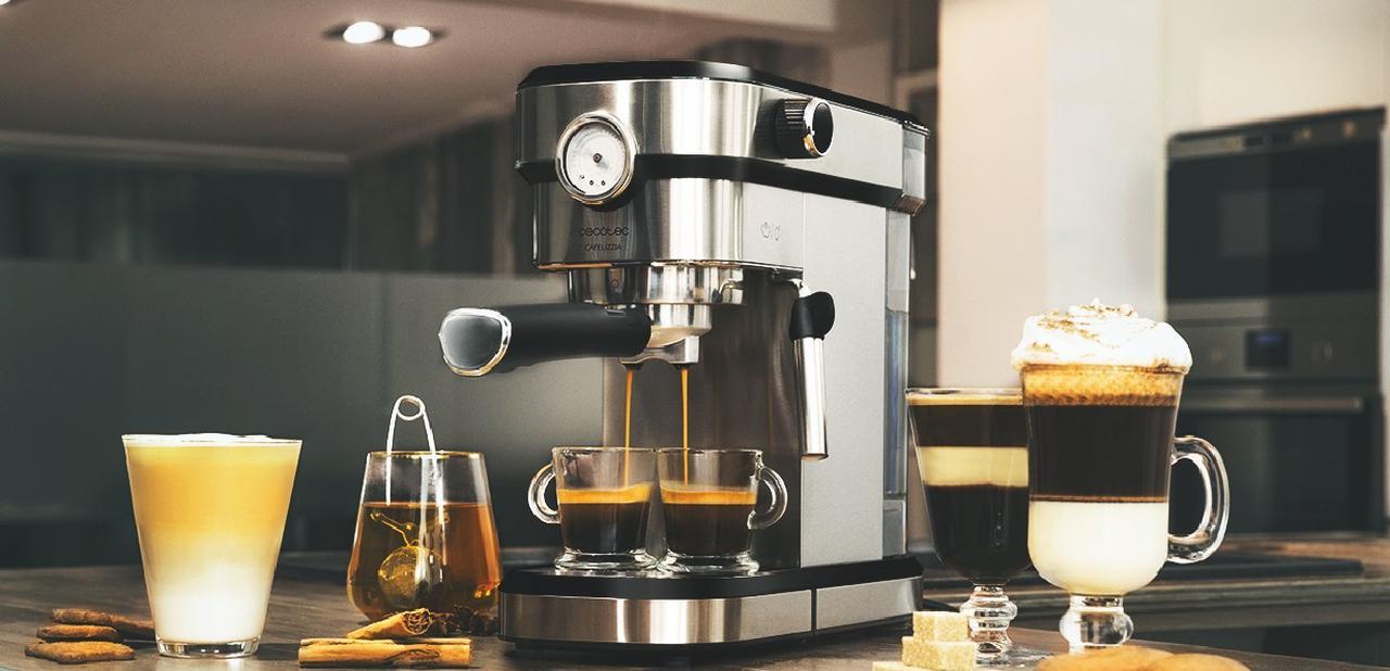 Presentación sobre Cecotec Cafetera Express Cafelizzia 790 Pro
