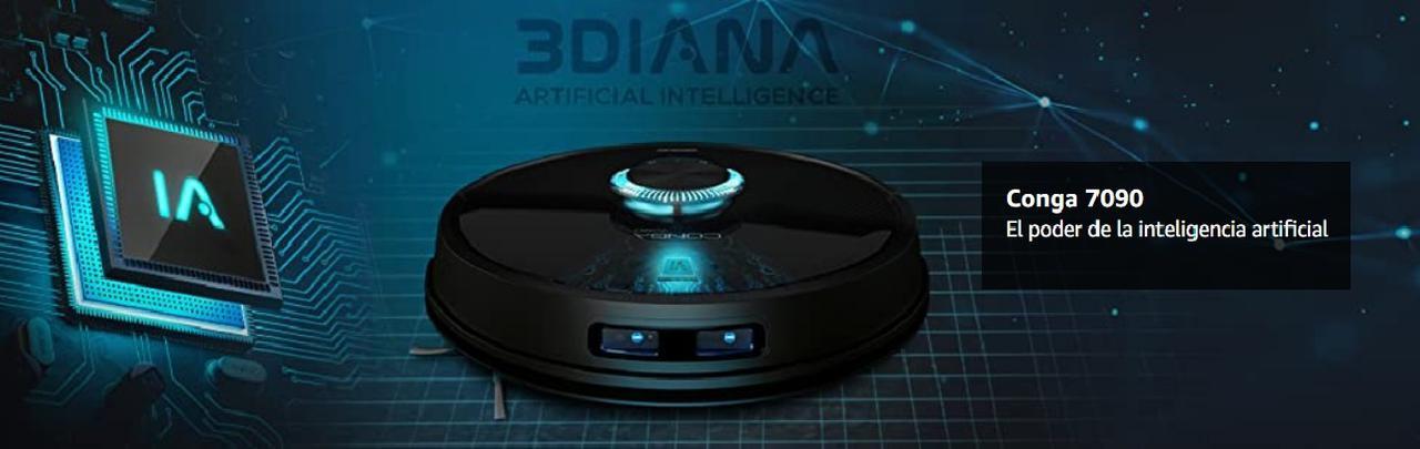 Presentación sobre Cecotec Conga 7090 IA Robot de Limpieza