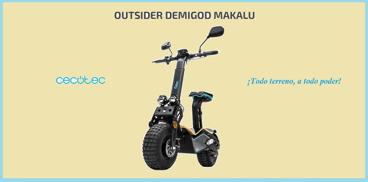 Presentación sobre Cecotec Outsider Demigod Makalu