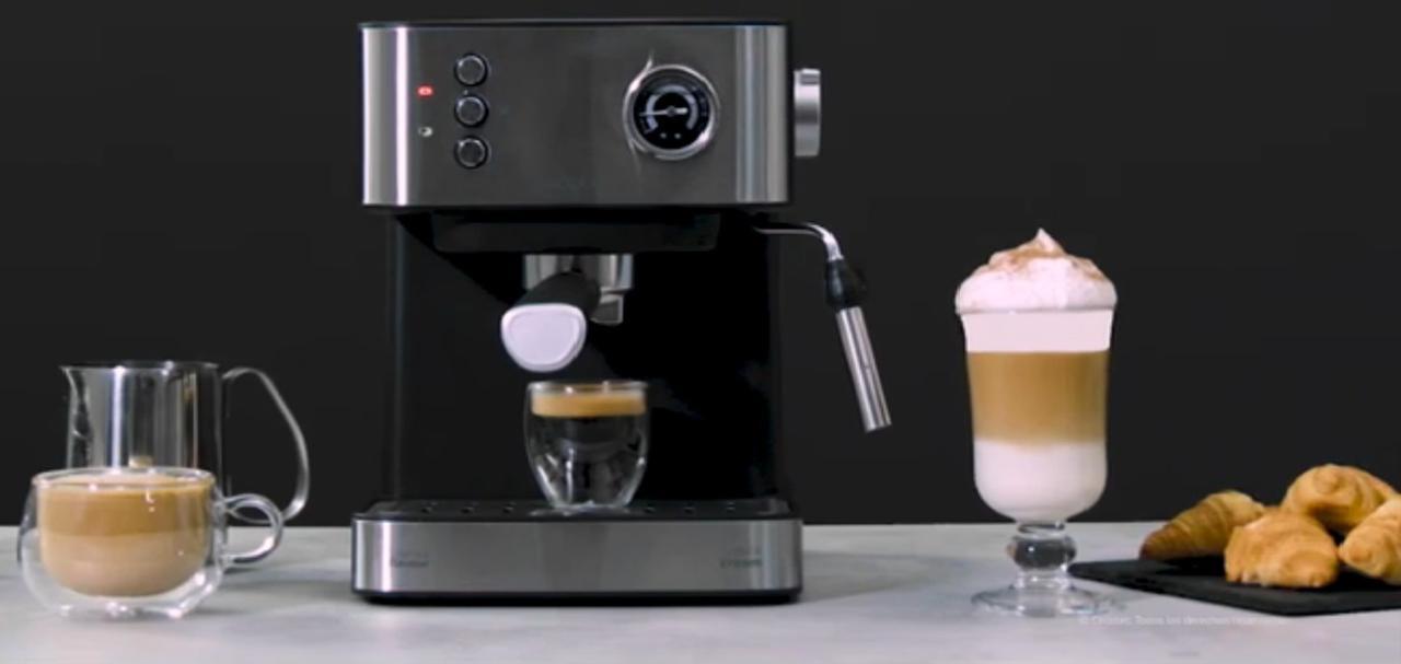 Presentación sobre Cecotec Power Espresso 20 Professionale