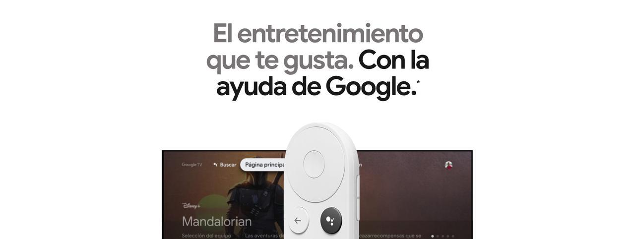 Presentación sobre Chromecast con Google TV