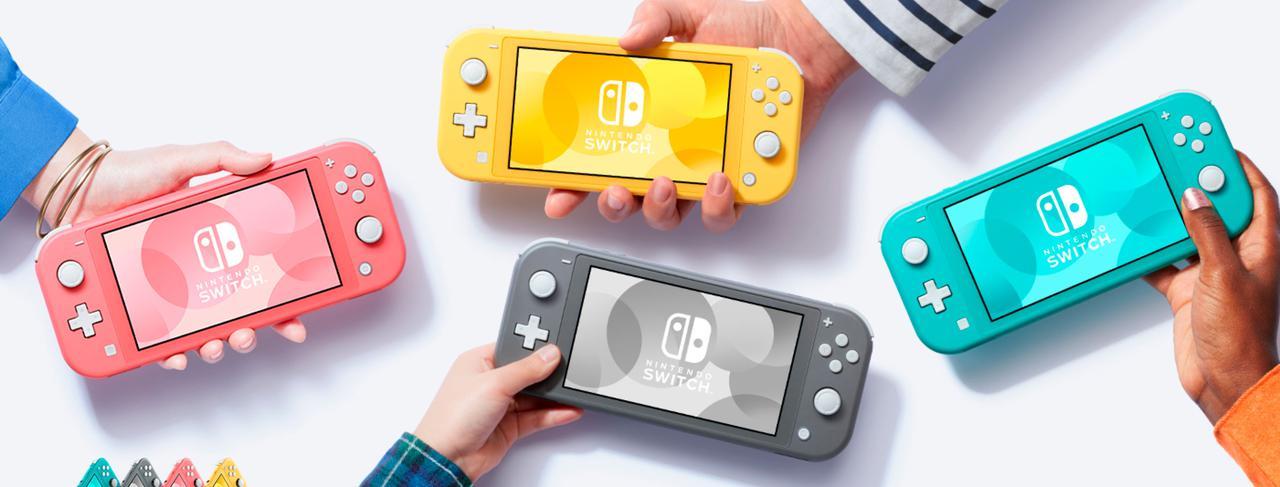 Presentación sobre Nintendo Switch Lite