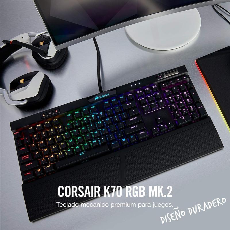 Imagen de Corsair K70 RGB MK.2 número 1