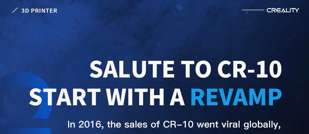 Presentación sobre Creality CR-10 V2