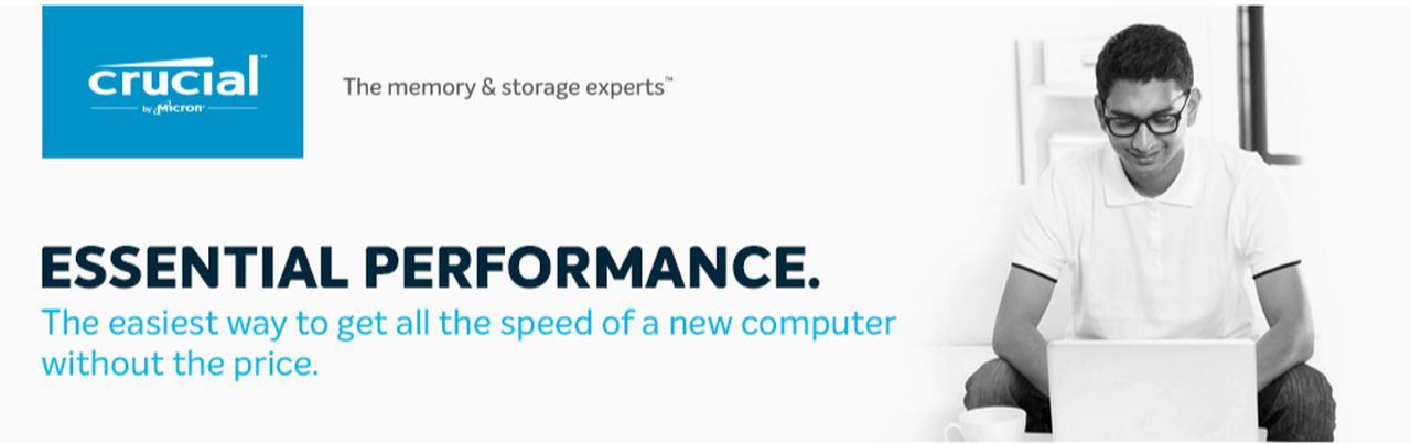 Presentación sobre Disco duro SSD Crucial BX500
