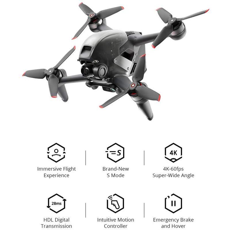 Imagen de DJI FPV Combo Drone Quadcopter número 2