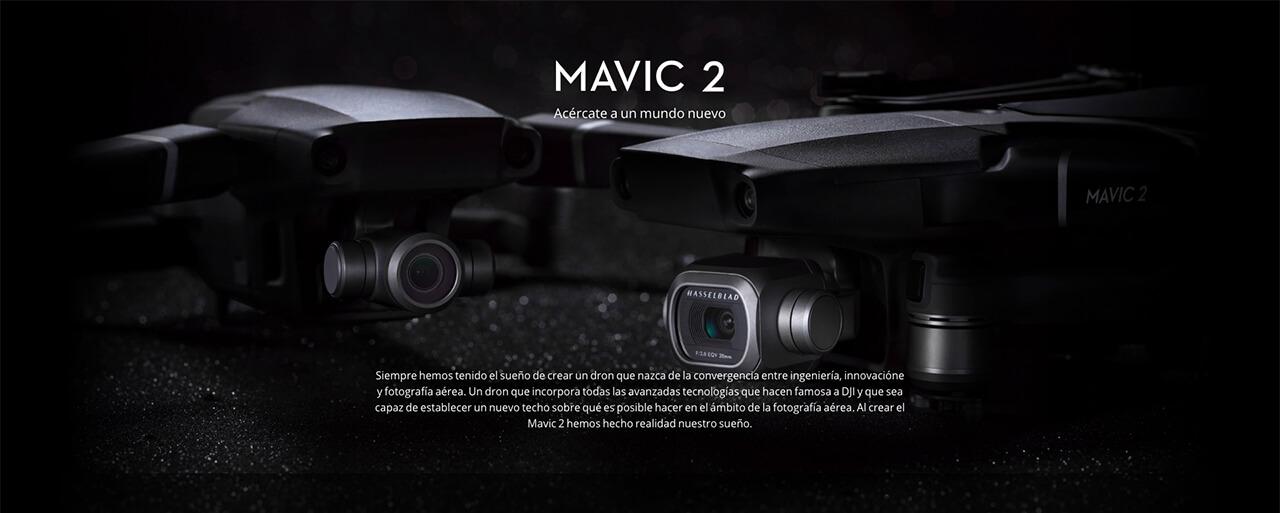 Presentación sobre DJI Mavic 2 PRO