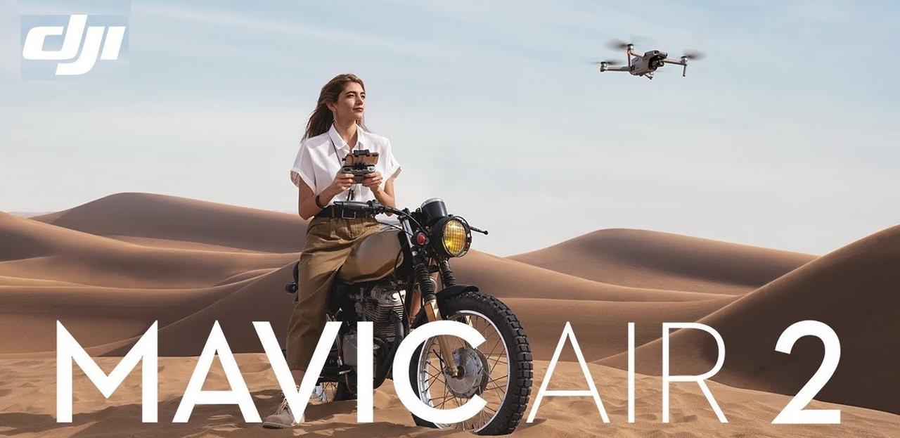 Presentación sobre DJI Mavic Air 2