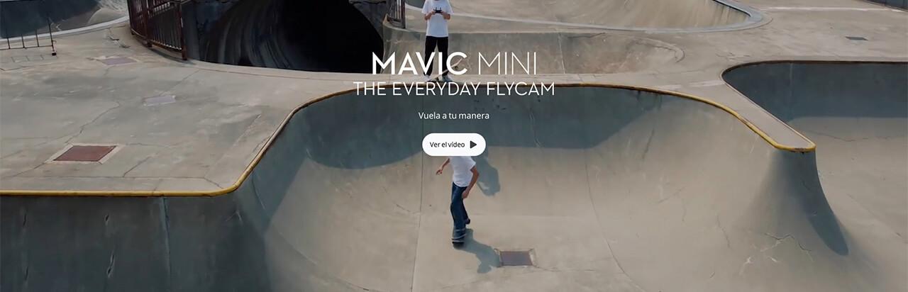 Presentación sobre DJI Mavic Mini