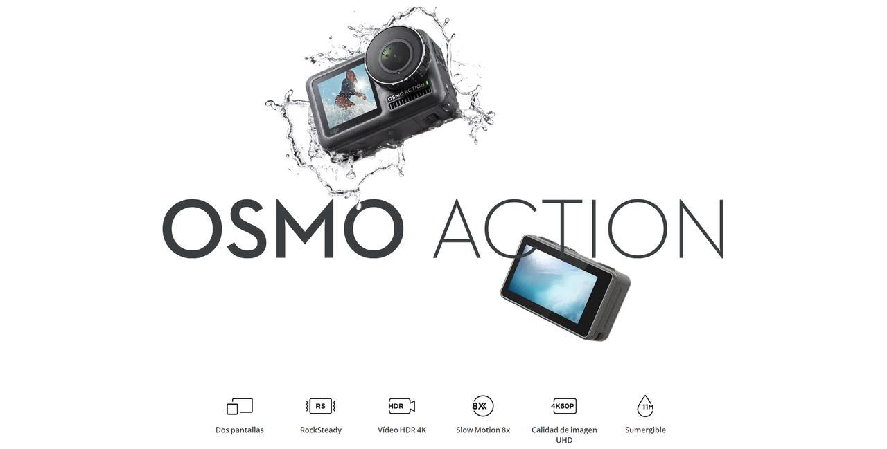 Presentación sobre DJI Osmo Action Cam