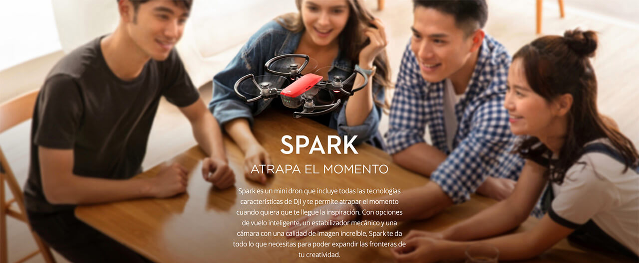 Presentación sobre DJI Spark