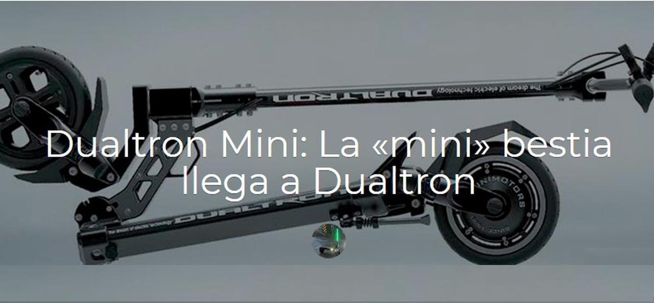 Presentación sobre DualTron Mini