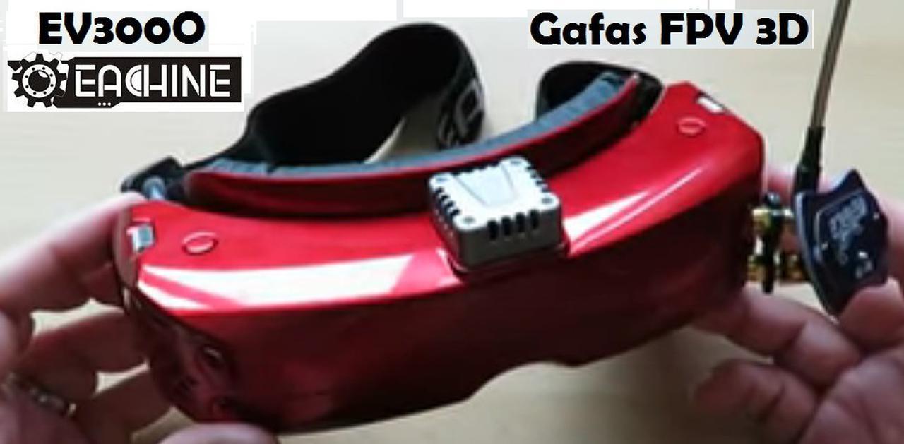 Presentación sobre Eachine EV300O Gafas FPV 3D