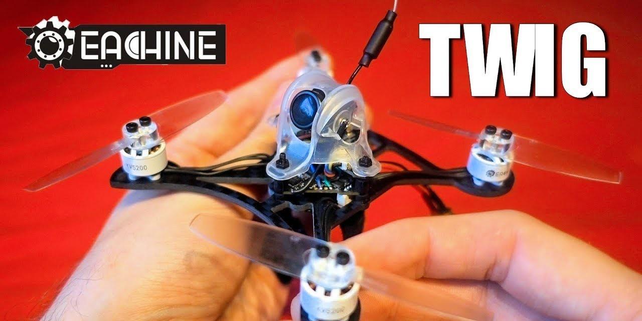 """Presentación sobre Eachine Twig 115 mm 3""""  FPV 3 S"""
