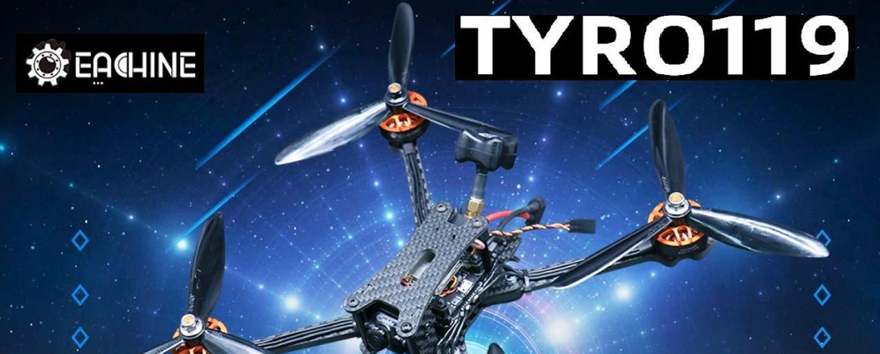 Presentación sobre Eachine Tyro119 250mm