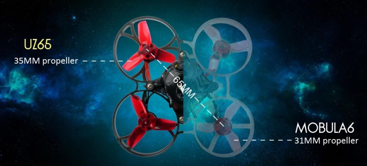 Presentación sobre Eachine UZ65 1S Whoop FPV Racing Drone