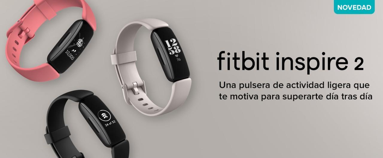Presentación sobre Fitbit Inspire 2