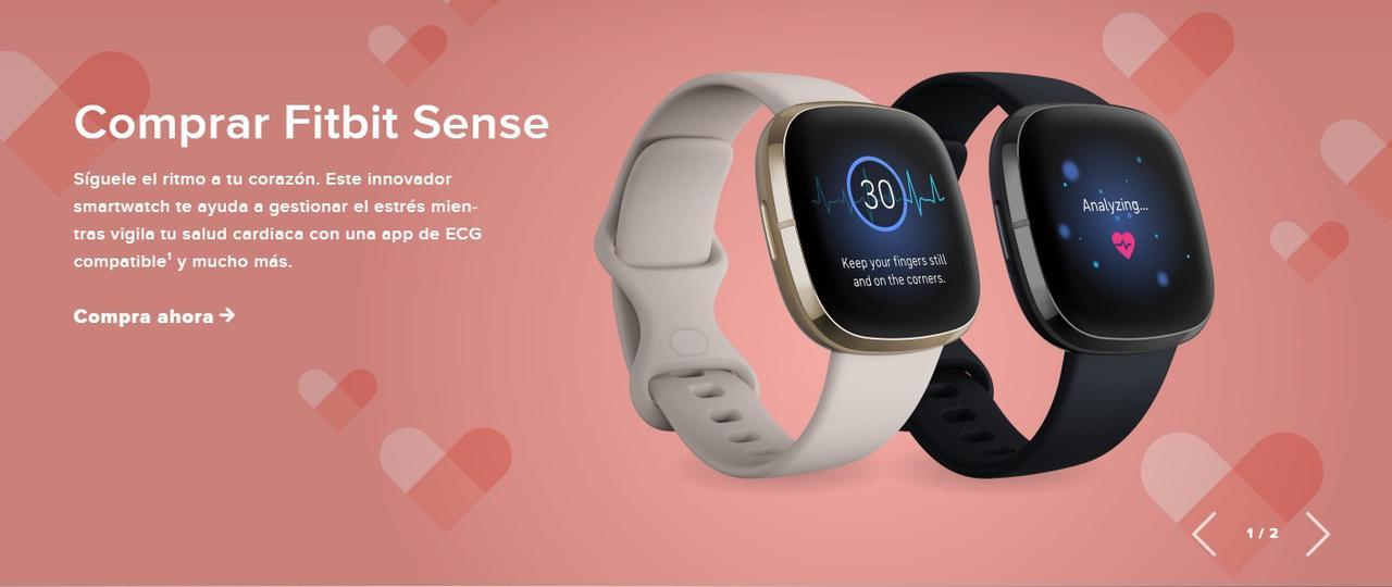 Presentación sobre Fitbit Sense Smartwatch