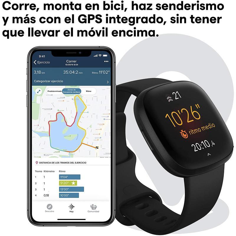Imagen de Fitbit Versa 3 número 2