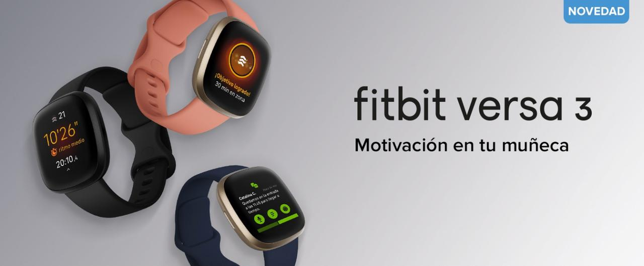 Presentación sobre Fitbit Versa 3