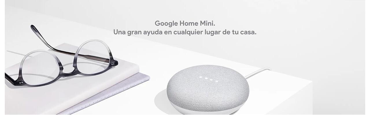 Presentación sobre Google Home Mini