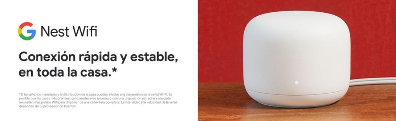 Presentación sobre Google Nest Wifi Mesh Router