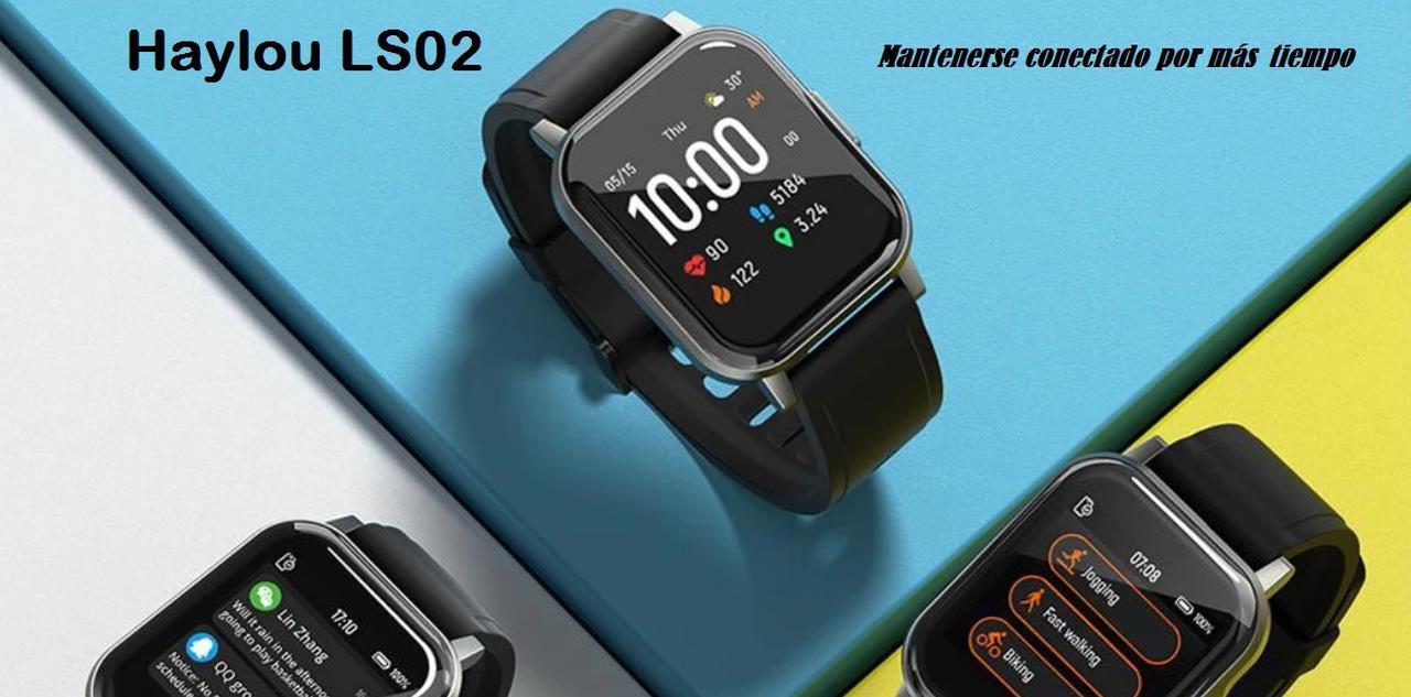 Presentación sobre Haylou LS02 Smartwatch