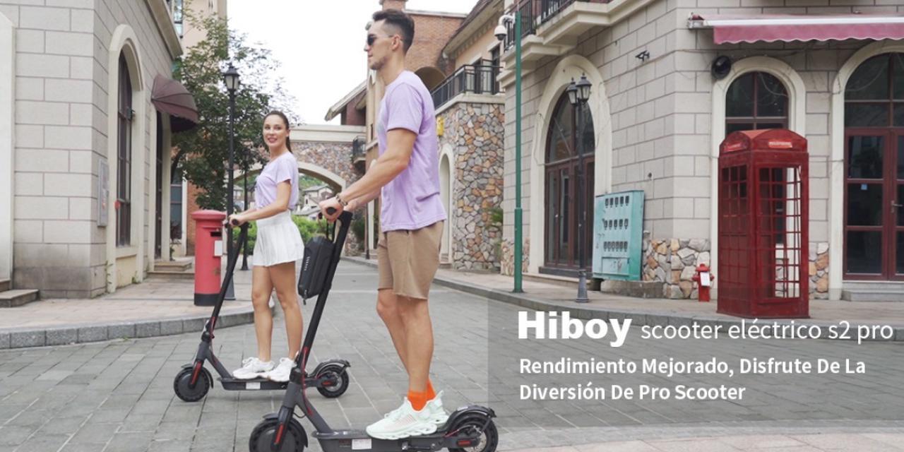Presentación sobre Hiboy S2 Pro Patinete Eléctrico