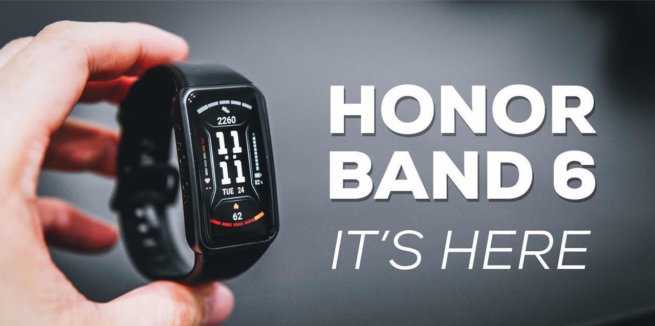 Presentación sobre Honor Band 6