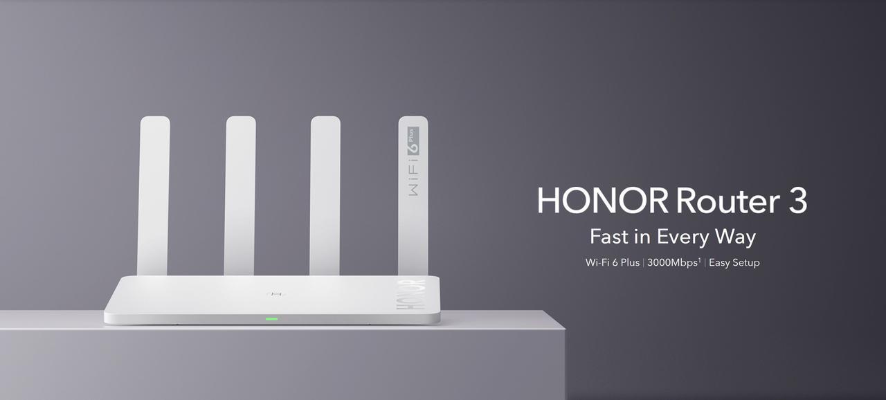 Presentación sobre Honor Router 3 WiFi 6