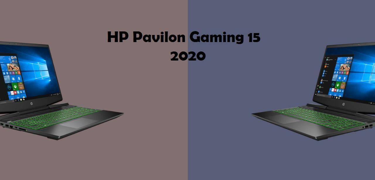 Presentación sobre HP Pavilion Gaming 15 2020
