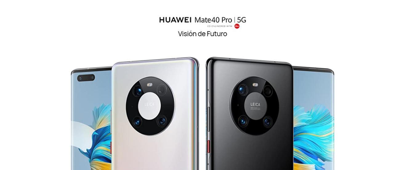 Presentación sobre Huawei Mate 40 Pro 5G