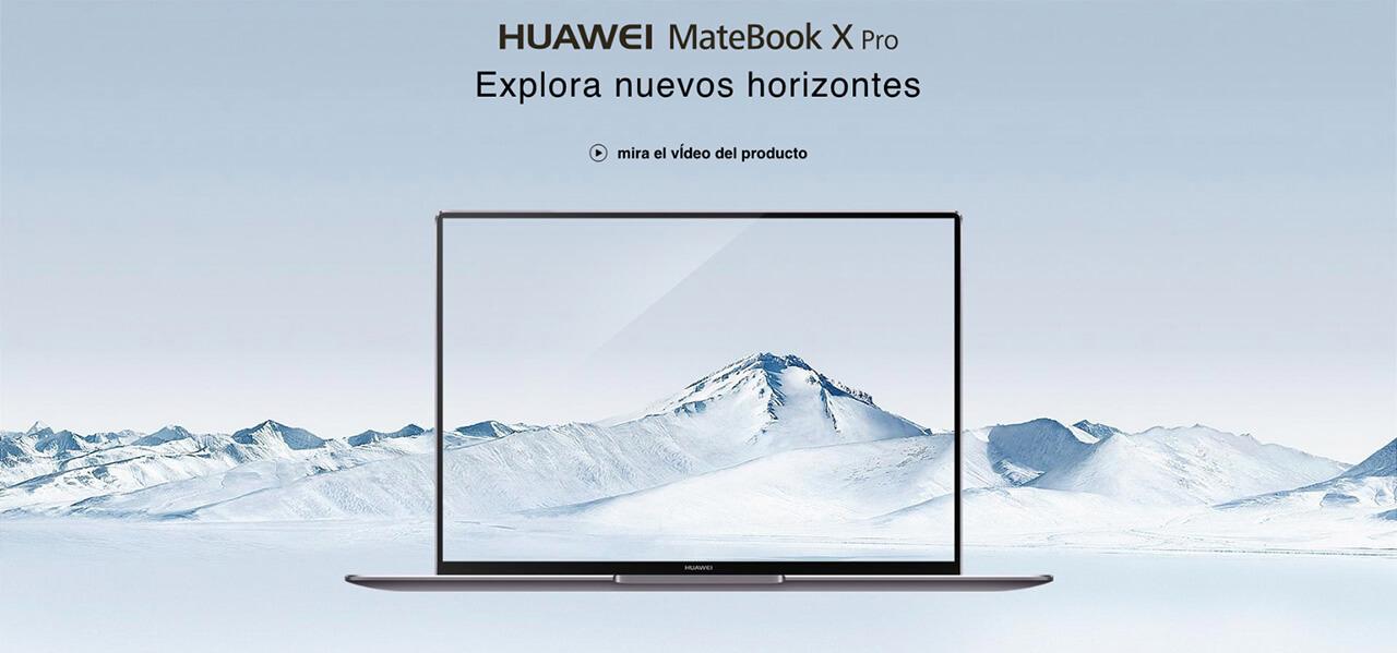 Presentación sobre Huawei Matebook X Pro