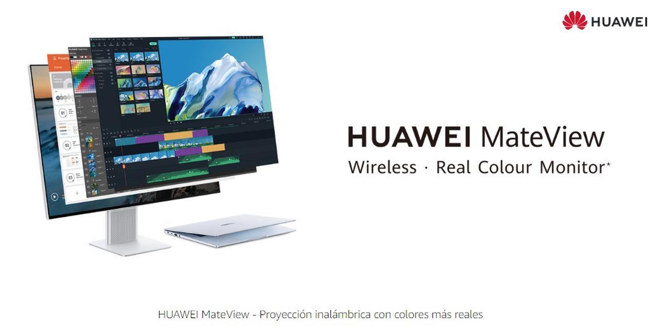Presentación sobre HUAWEI MateView Monitor 28,2''