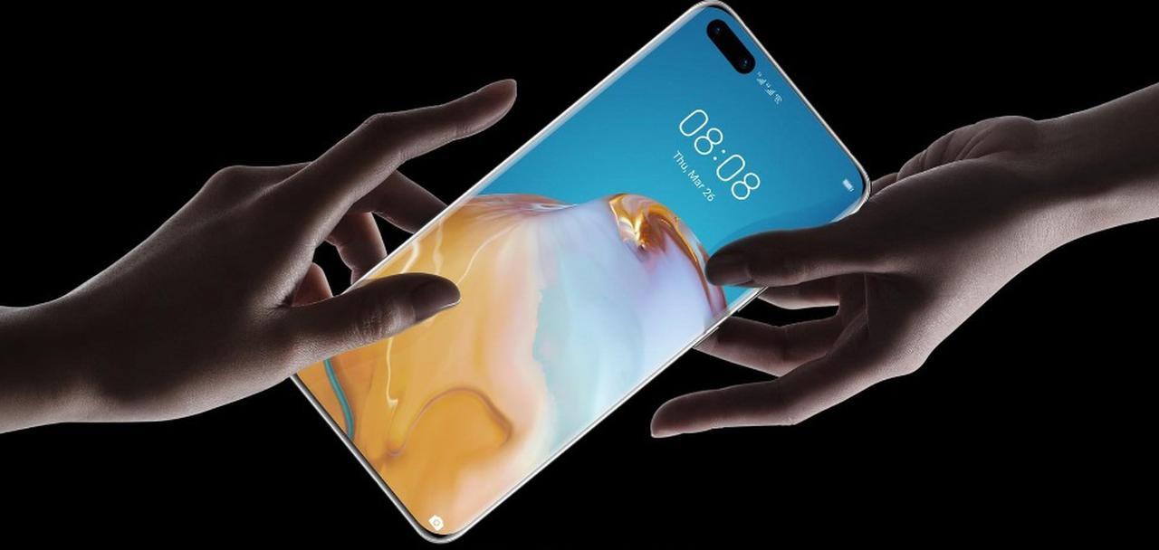 Presentación sobre Huawei P40 Pro+