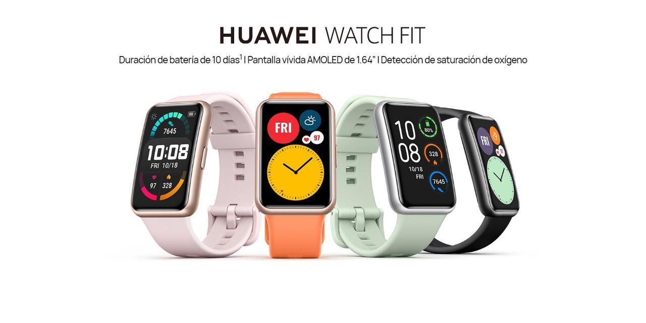 Presentación sobre Huawei Watch Fit